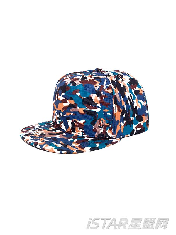 质感嘻哈迷彩棒球帽