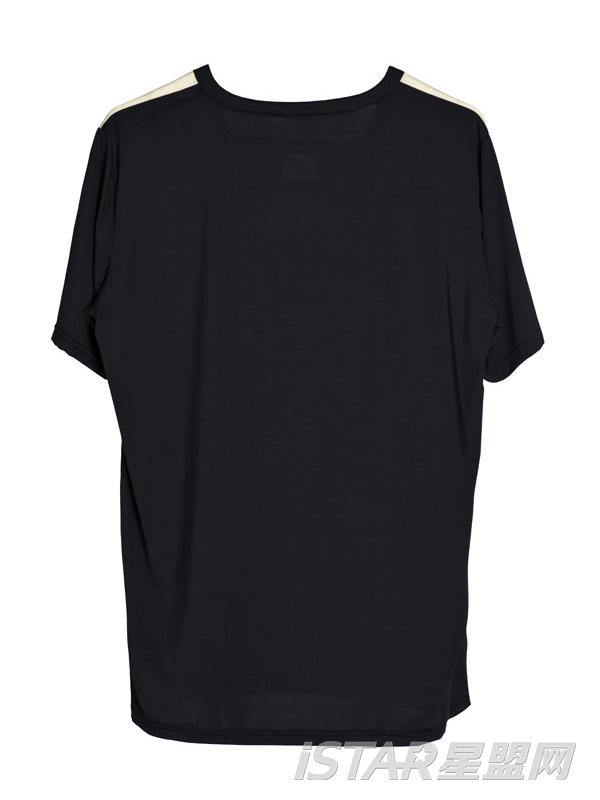 个性领休闲短袖T恤