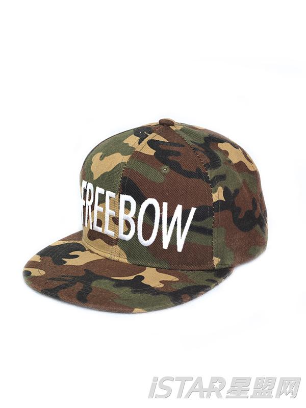 迷彩FREEBOW帽