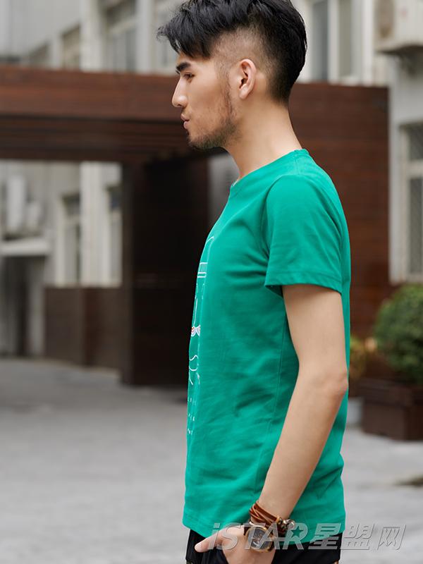 圆领短袖T恤