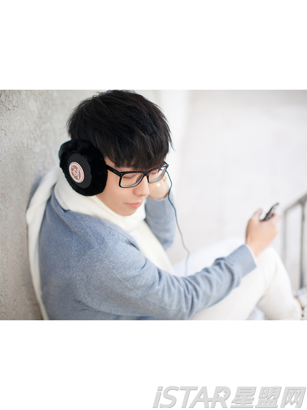 毛茸茸保暖音乐耳罩
