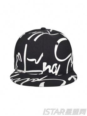 嘻哈帆布帽
