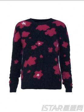 花纹图案设计针织毛衣