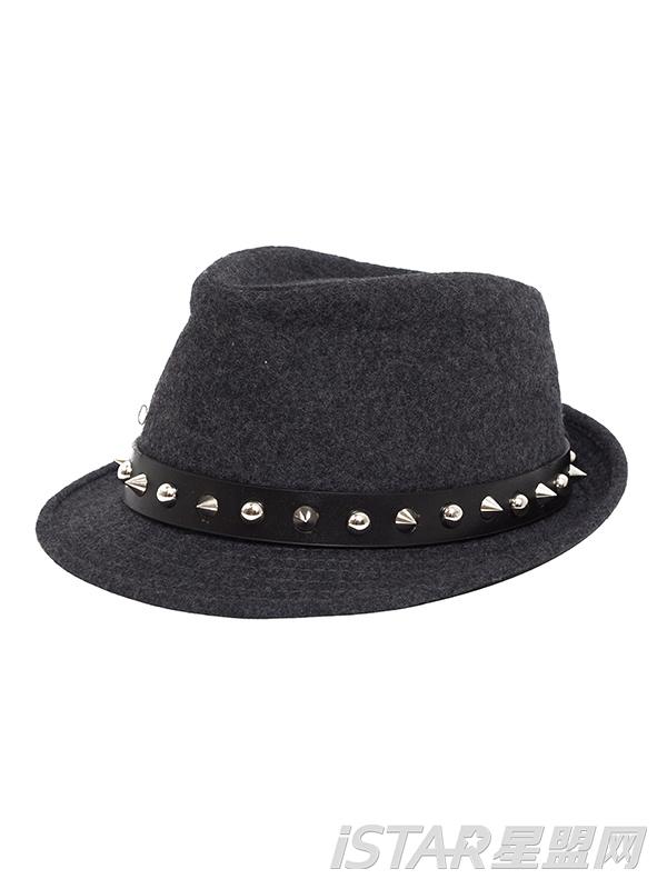 英伦风毛呢爵士帽子