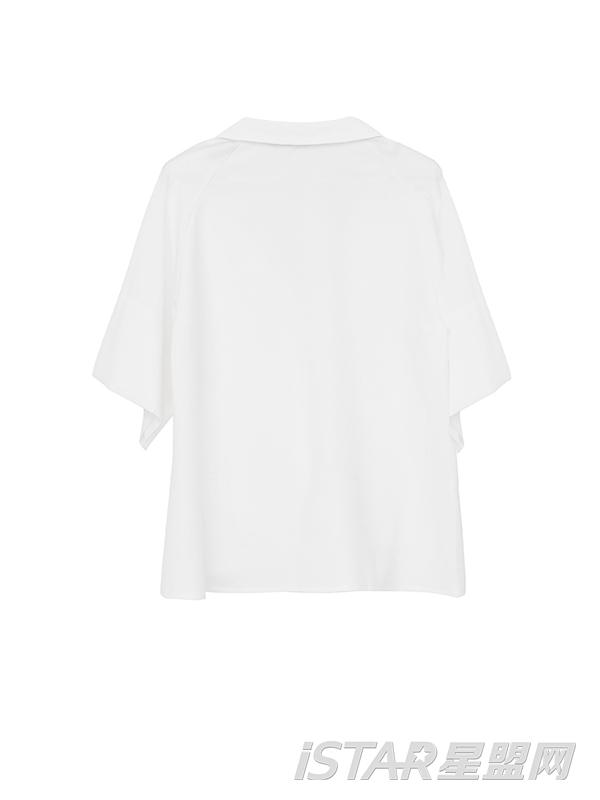 蝙蝠袖衬衫