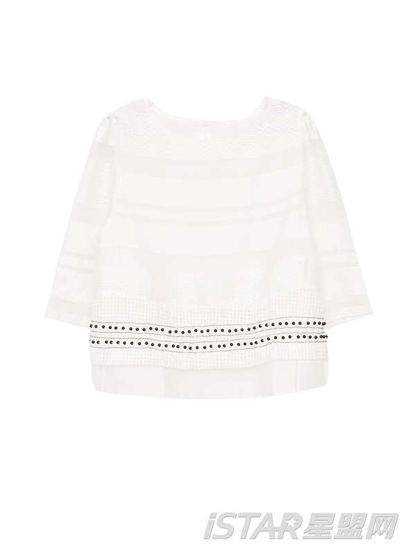 白色欧根纱套装