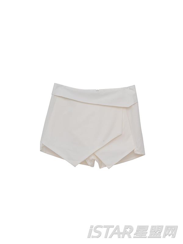 不规则短裤