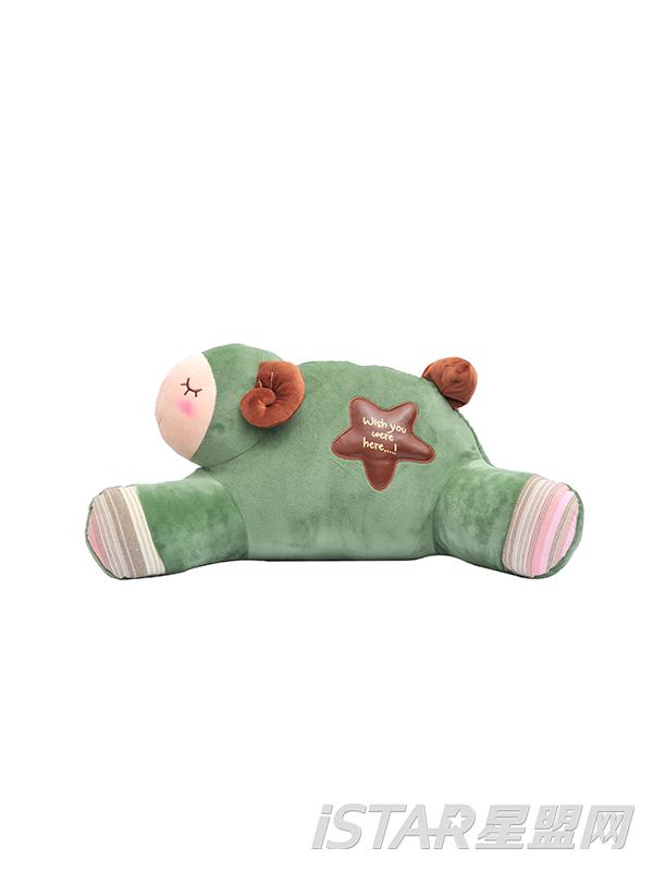 羊办公室抱枕U形枕颈枕