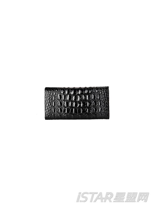 鳄鱼纹皮夹钱包