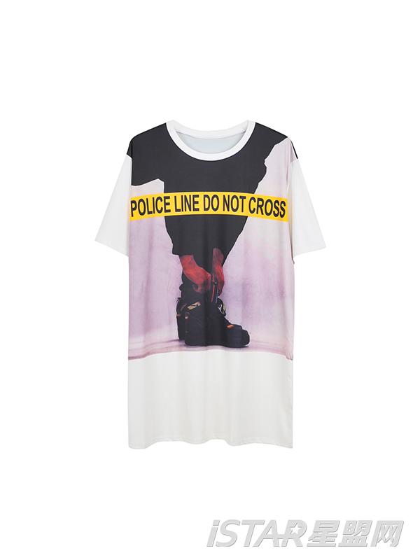 个性图案潮T恤