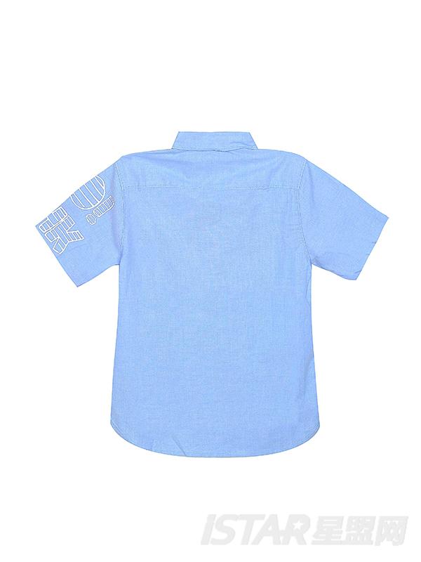 胡军亲子装定制儿童纯棉衬衫