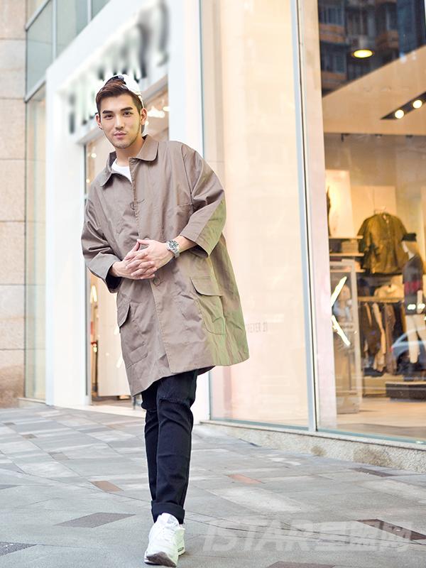 长风衣外套