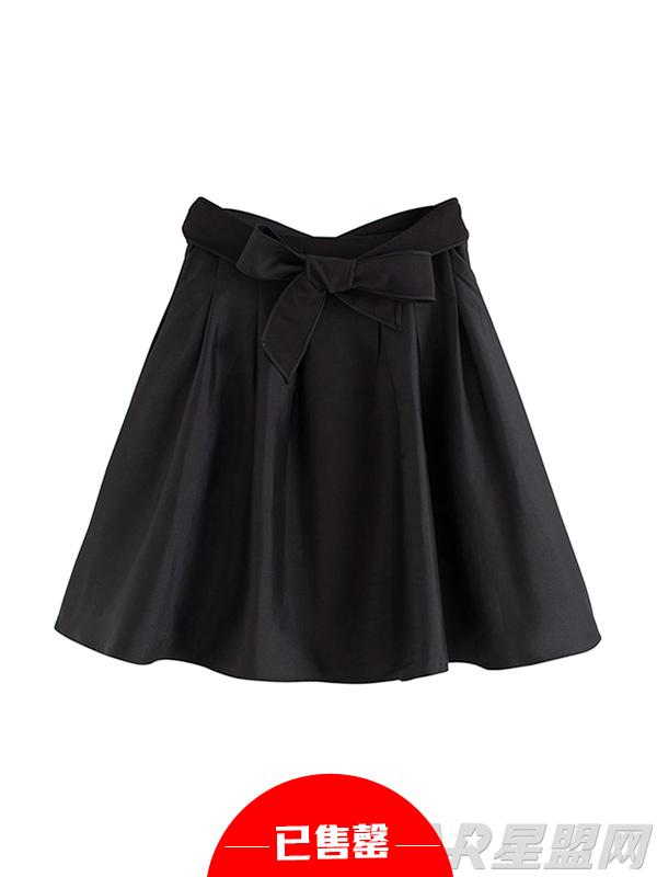 蓬蓬大摆伞裙短裙 高腰百搭A字半身裙