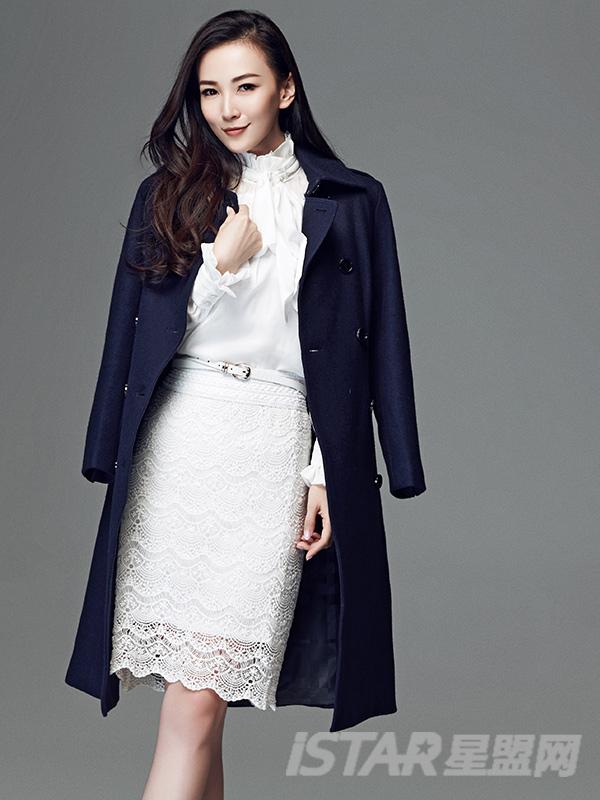 蕾丝包臀半身裙