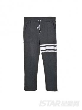 FREEBOW个性条纹休闲裤