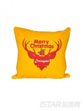 圣诞Dorayaki定制驯鹿印花抱枕