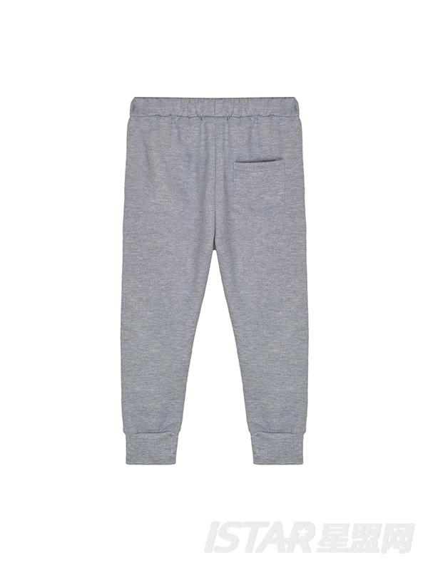 儿童休闲加绒运动裤