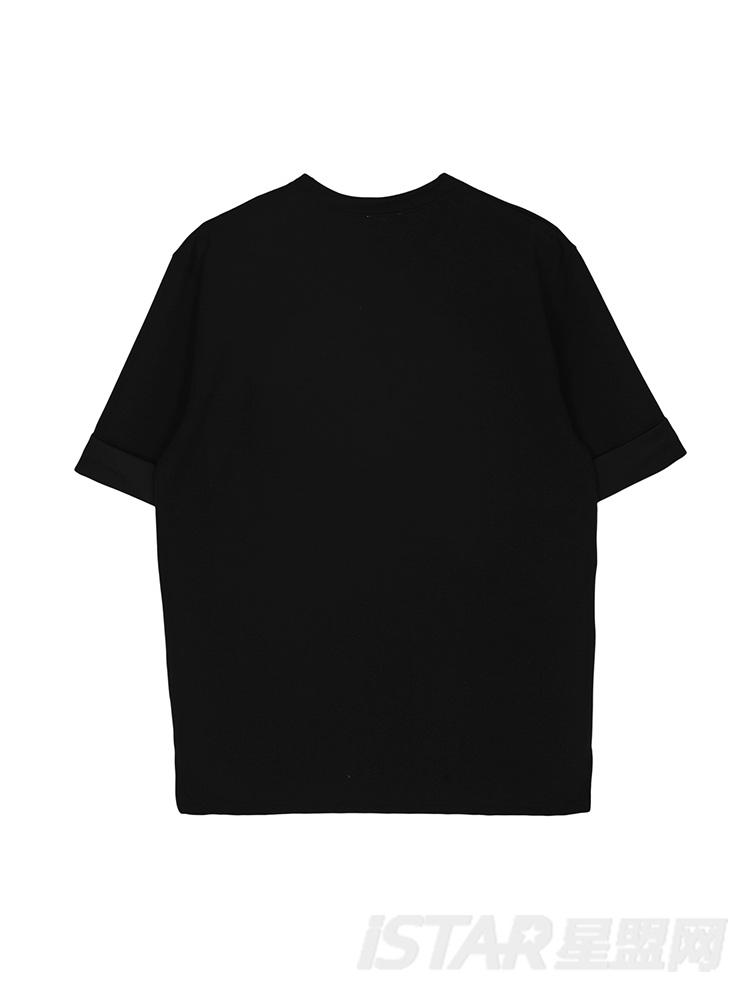 于小彤定制前短后长T恤
