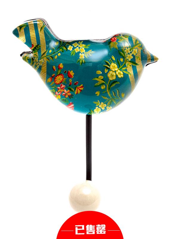 水晶小鸟衣帽挂钩