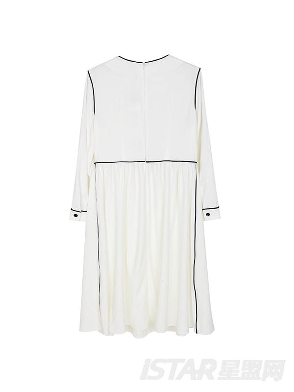SWEET EMOTION雪纺长袖薄款连衣裙