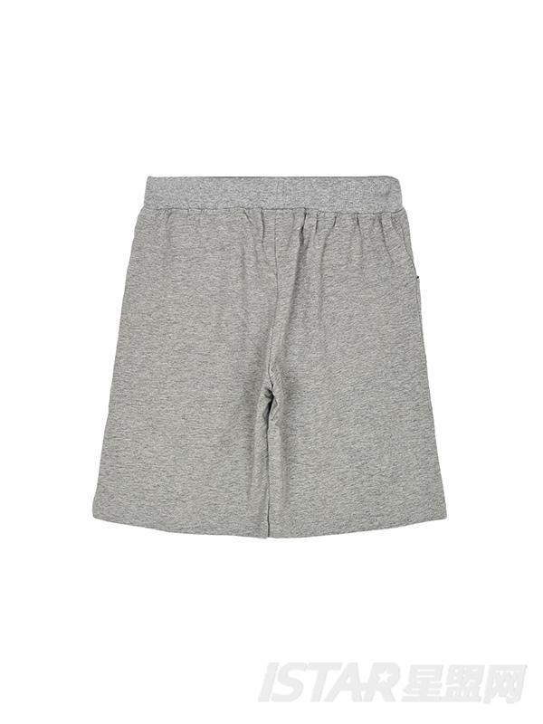 儿童纯色舒适休闲短裤