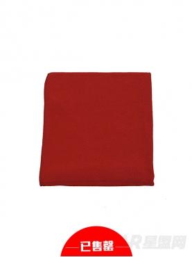 时尚红宠物保暖空调毯