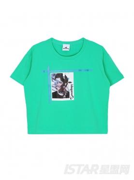 于小彤定制清新宽松女士T恤
