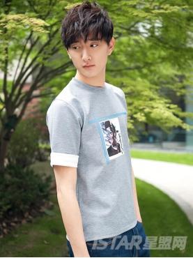 【票号款】于小彤定制廓形太空棉男式T恤