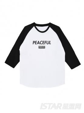 付辛博时尚休闲拼色定制款T恤