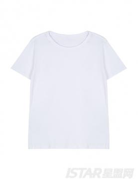 Sweet Emotion 时尚阔形个性短袖纯棉T恤