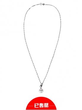 典雅气质白色珍珠项链
