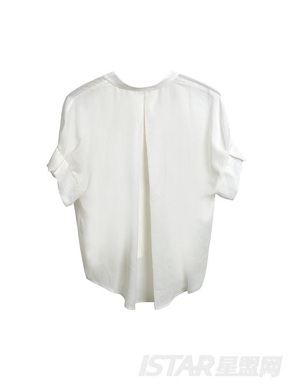 挽袖休闲衬衫