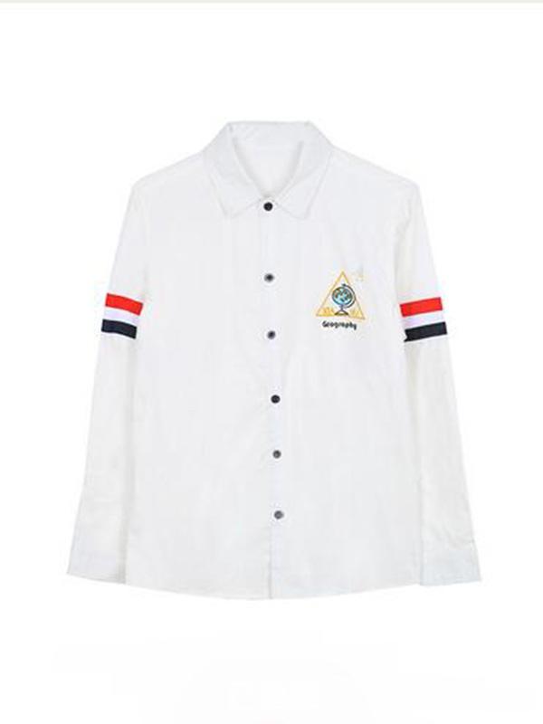 课程系列白衬衫