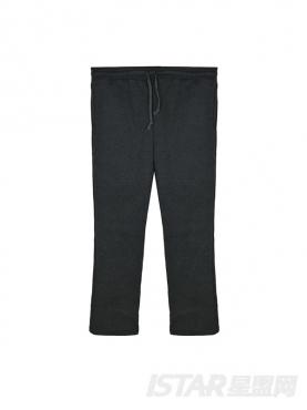 N-ation深灰个性休闲运动裤
