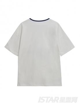 休闲运动圆领T恤