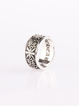 个性复古金光戒指