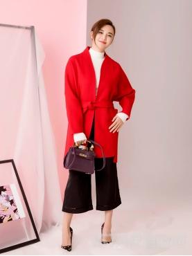 织袋镂空织带阔腿休闲裤