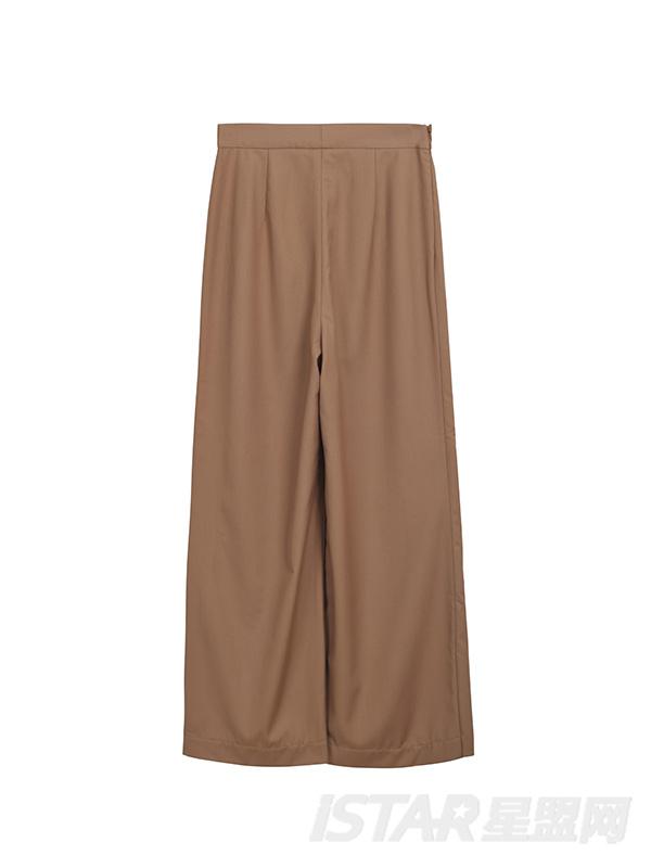 宽松喇叭裤
