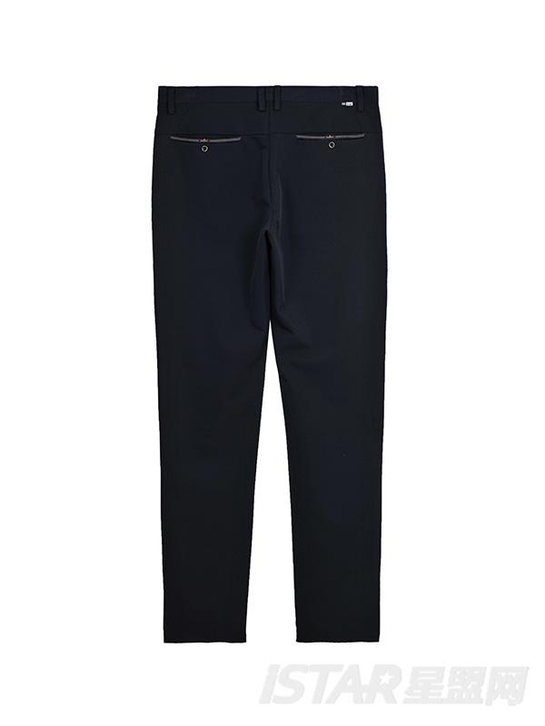 商务修身休闲裤