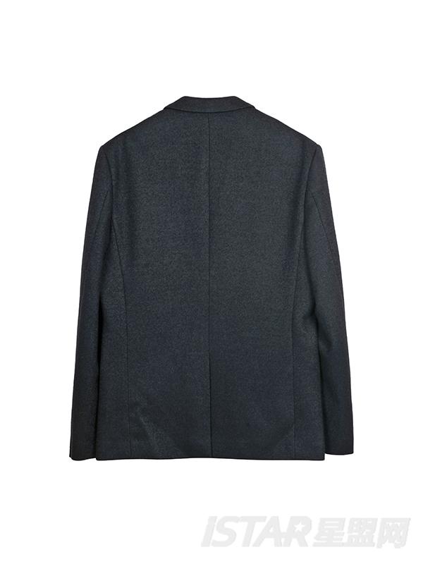 Dorayaki品牌徽章式个性贴布西装