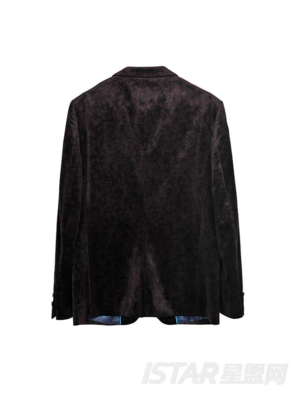 Dorayaki品牌丝绒西装