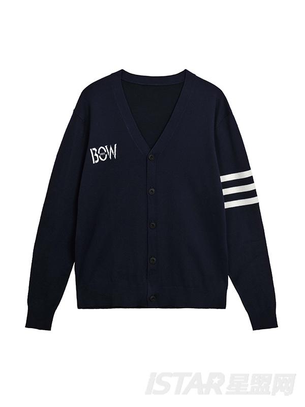 FREEBOW品牌男款针织开衫