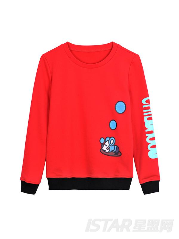 MR.HU品牌保暖休闲亲子装套装(儿童款)