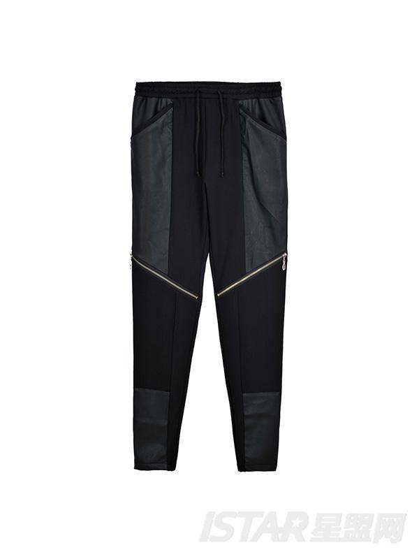 MR.HU品牌潮酷机车皮裤