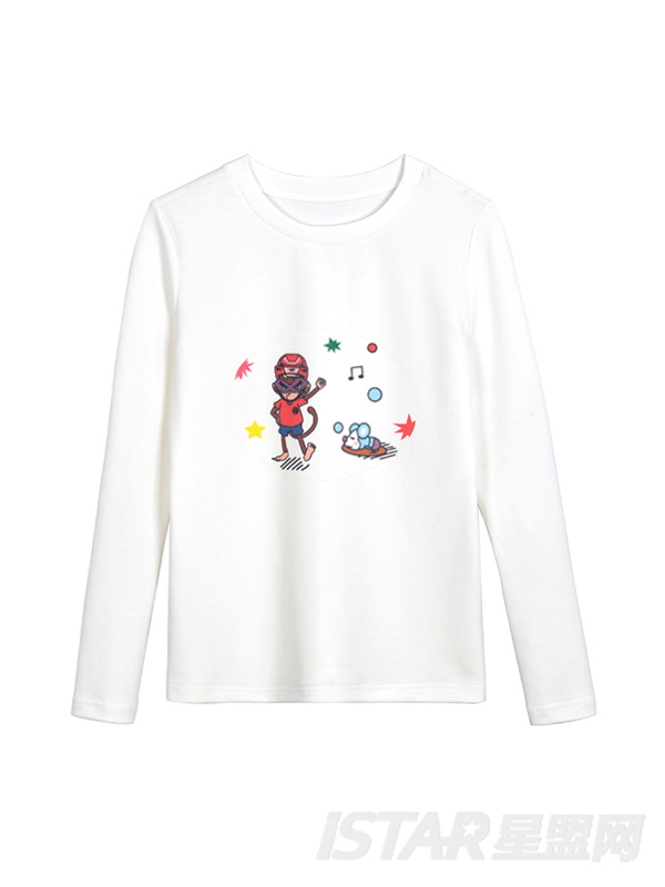 MR.HU品牌简约休闲童装T恤