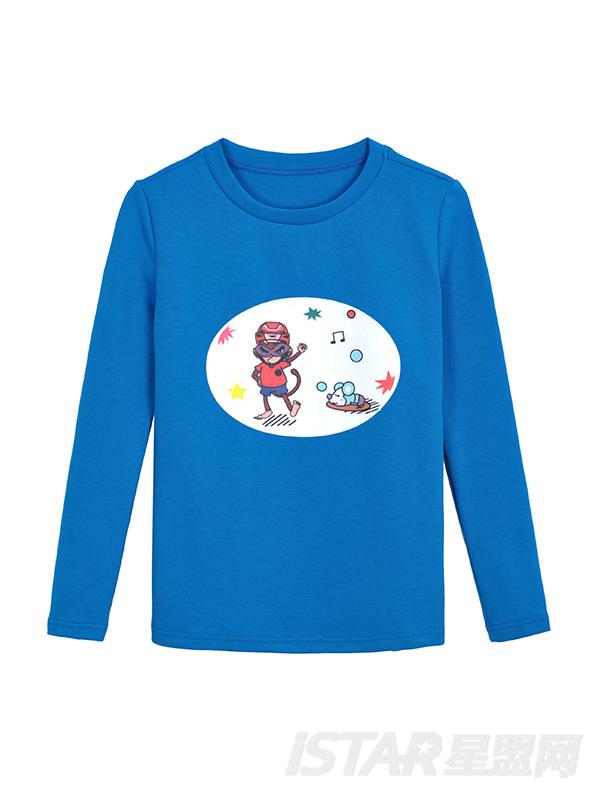MR.HU品牌休闲童装T恤