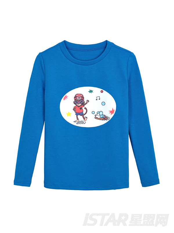 MR.HU品牌时尚休闲儿童长袖T恤