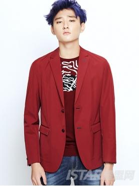Dorayaki品牌时尚修身双扣优雅西装