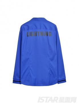 Dorayaki品牌简约亮色休闲舒适衬衫
