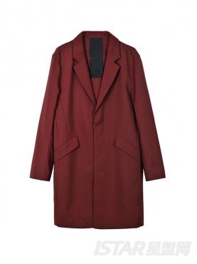 Dorayaki品牌经典中长款舒适保暖风衣